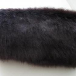 Purple Faux Fur Muff